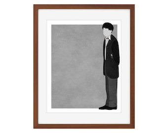 Doctor Who print - the Second Doctor/Patrick Troughton