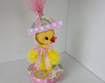 Easter Decoration Chenille Duck Easter Ornament