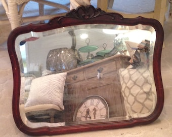 Antique Victorian Mirror