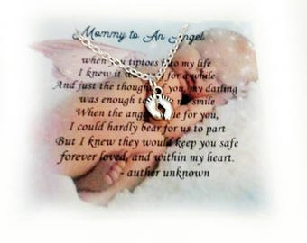 Miscarriage Jewelry Memorial Jewelry  miscarriage necklace