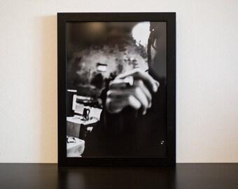 Lightsick III - handmade photographic silver gelatin print - analogue photography