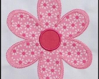 INSTANT DOWNLOAD Plain Jane Daisy Applique designs