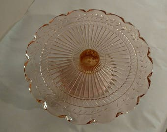 Laura Glass Set of 3 Serving Plates