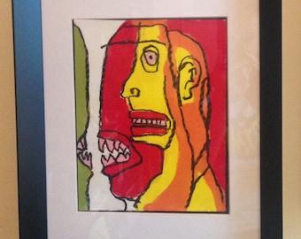 Demons - Original Painting