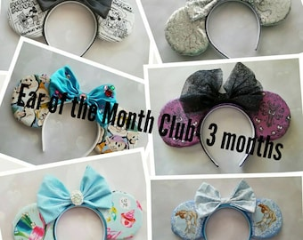 Ear of the Month Club- 3 month subscription