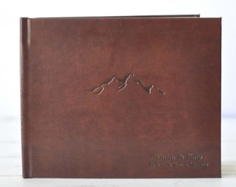 Cabin Guest Book - Lake House Guest Book by ClaireMagnolia