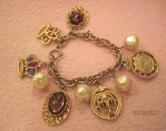 Charm Bracelet missing 2 charms SALE