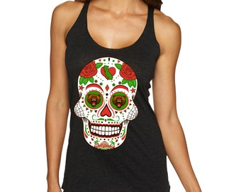 California Sugar Skull tank