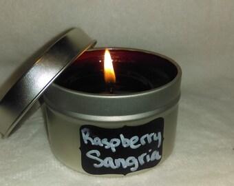 raspberry sangria Tin