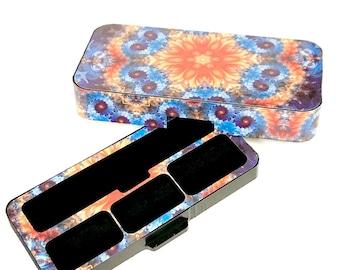 JUUL Vape travel case Flower Power design