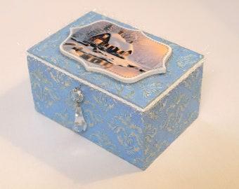 "Box "" Vintage winter"""