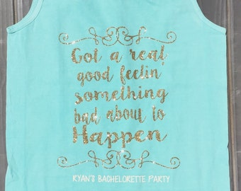 Bachlorette Party Shirts/Tanks