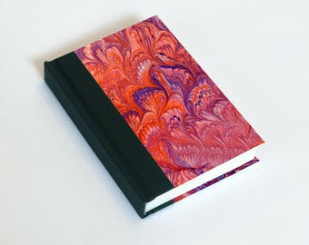 """Sketchbook 4x6"""" with motifs of marbled papers - 7"""