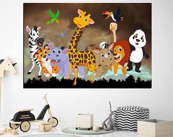 Kids Room Wall Art,Kids Room Decor,Kids Room Art,Personalized Kids Room Canvas,Customized Kids Room Art,Kids Room Print,Kids Room Wall Decor