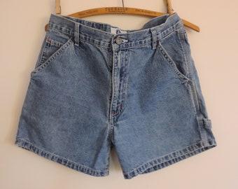 Vintage High Waisted Denim Jean Shorts Arizona Shorts Ladies Girls Denim Jeans Shorts Size 7