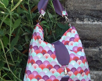 The Reversible Hobo bag PDF Sewing Pattern by Mrs H