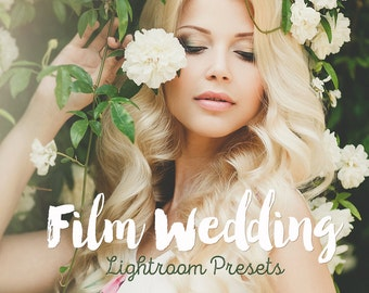 Film Wedding Lightroom Presets Wedding film presets for Lightroom 4-7 and Creative Cloud presets wedding Best Lightroom presets Lightroom cc