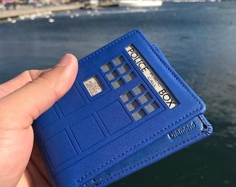 Doctor Who Tardis Premium Handcrafted Wallet