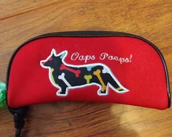 Cardigan Corgi Dog Poo Bag Holder Bone