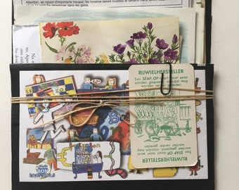 50+ pieces of collected, vintage paper goodies to use in your Art, Journal, Smashbook ,Scrapbook, Collage, Ephemera, Travelers Notebook