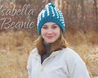 PDF Crochet PATTERN Isabella Beanie