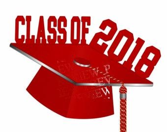 Graduation clip art, MORE COLORS, red, silver graduation clipart, cap and tassel graphic, graduate clipart, party, announcements, grad