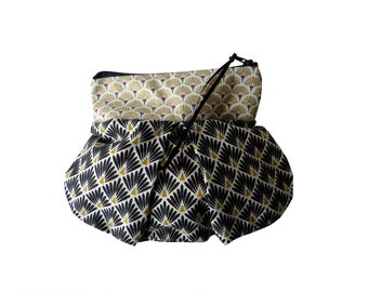 Ethnic print fabric purse Kit