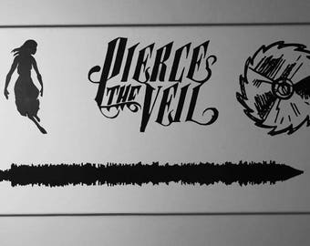 Pierce The Veil Painted Sound Wave