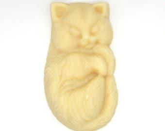 Kitten Solid Lotion Bar -  skin care, travel lotion,stocking stuffer, custom lotion bar, party favor, massage bar, wedding, bridesmaids