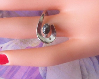 Vintage Silver Ring - Size 5.75 - R-145