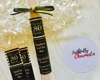 Birthday Favors, 80th Birthday Favors, 80th Birthday Party Favors, 80th Birthday Gift