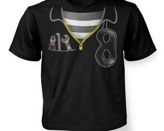 Burglar Costume kids t-shirt