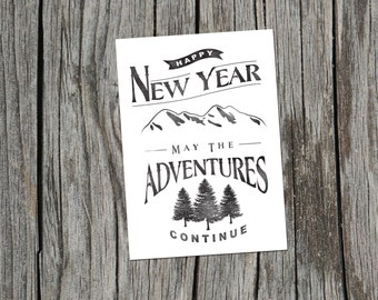 Set of New Years Cards *Packs of 10*