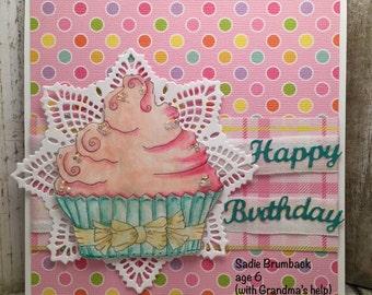INSTANT DOWNLOAD Digital Digi Stamps Big Eye Big Head Dolls NEW Bestie  Cup Cakze 1 My Besties By Sherri Baldy
