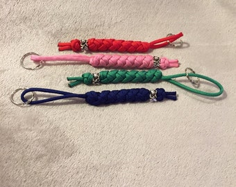 Paracord keychain, Beaded keychain, Bestfriend keychain, Key Fob, Dog Key Chain, Beaded Keychain, Keychain for Her, Keychain for Him