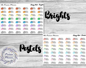 Happy Mail - Planner Stickers