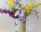 Silk Faux Floral arrangem...