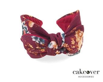 Headband-Fleurs du soir