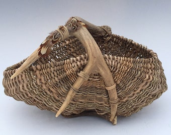 Antler Basket -Item 829 by Susan Ashley