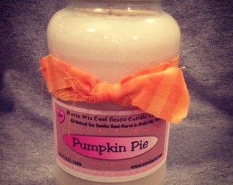 26 oz soy wicked candle pumpkin pie scented