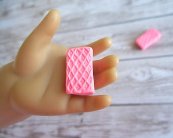2 Pink Waffers for American Girl Dolls or Our Generation Dolls / Waffers for American Girl Dolls / Waffers for Our Generation Dolls / Kawaii