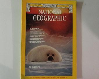 National Geographic Magazine January 1976 Seals
