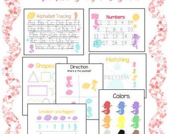 Preschool Learning Printable Pack