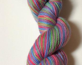 Destash - Mint Rain Hand Dyed Yarns - Zombies Gotta Knit - 80/20 SW Merino/Nylon