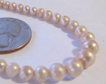 ViNTAGE faux PEARL Necklace Downton Abbey Necklace 1930s faux Pearl Necklace