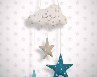 Baby cloud mobile