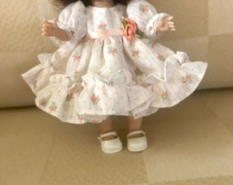 Dresses for muffie, Ginny or 8 inch dolls.