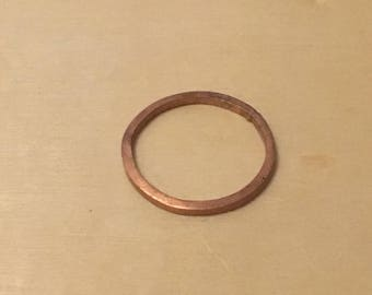Hand-Sawed Stacking Ring