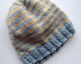 Cute baby hat simple knit