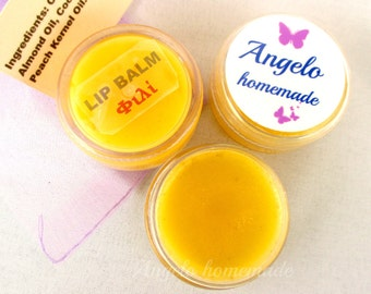 Lip Balm, Natural Lip Balm, Chapstick, Lip Butter, Organic Lip Butter, Lip Moisturizer, Chapped Lips Care, Vanilla Lip Balm, Lip Balm φιλί.